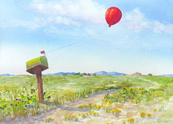 Another Red Balloon 10 X 14