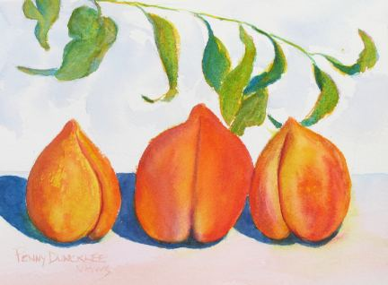 Big Peaches 5x7