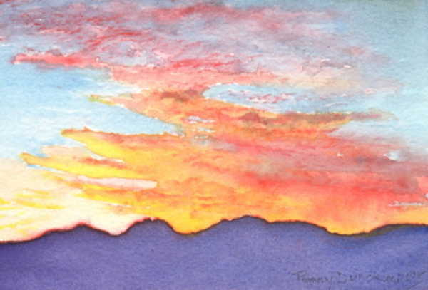 October Sunrise 4x6